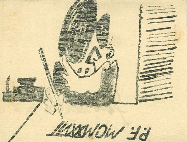 František Tichý – Novoročenka Františka Tichého na rok 1927