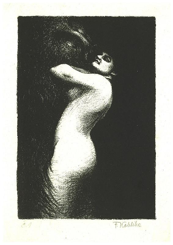 František Kobliha – Žena v objetí Satanově