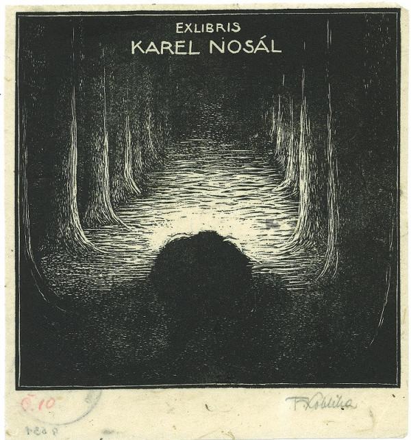 František Kobliha – Ex libris, Karel Nosál