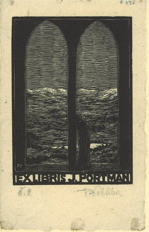 František Kobliha – Ex libris, J. Portmann