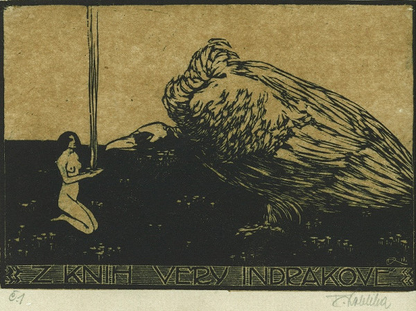 František Kobliha – Ex libris, Věra Jindráková