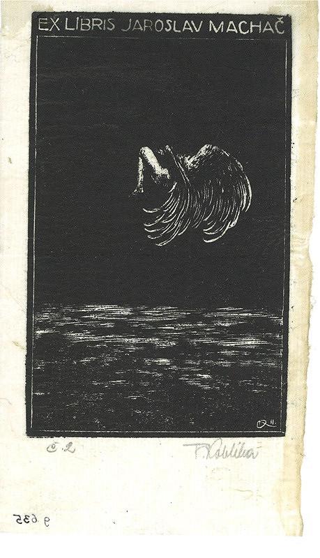 František Kobliha – Ex libris, Jaroslav Machač