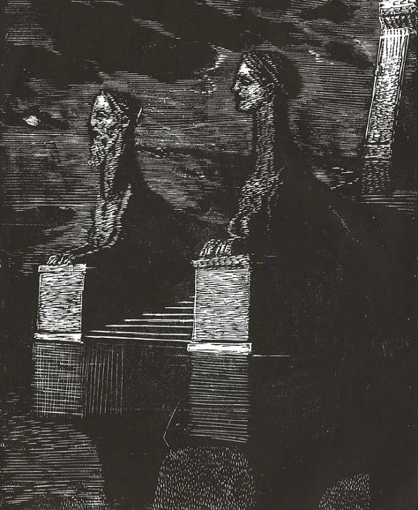 Rudolf Adámek – Dvě sfingy