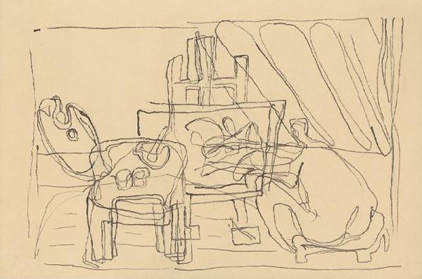 Jan Benda - Malířský atelier