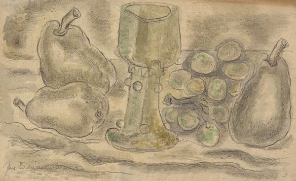 Jan Benda – Zátiší se starou sklenicí