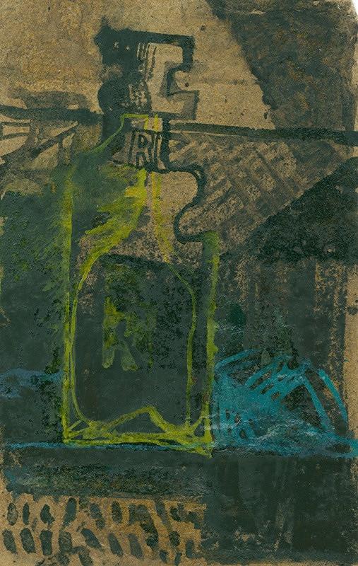 Vladimír Fuka – Žlutá sklenice na modrém stole