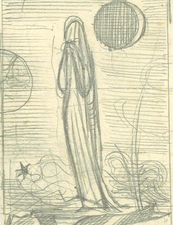 František Tichý - Truchlící žena