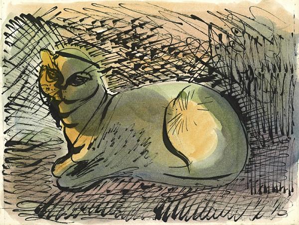 František Tichý – Kočka