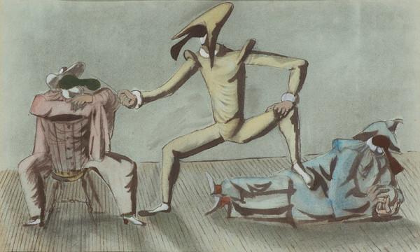 František Tichý – Commedia dell arte