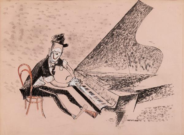 František Tichý – Grock u klavíru