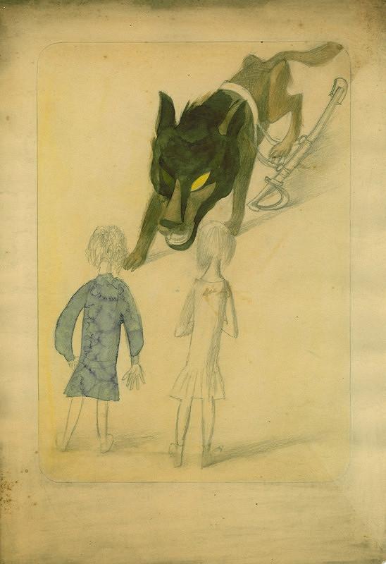 František Tichý – Ilustrace k pohádce