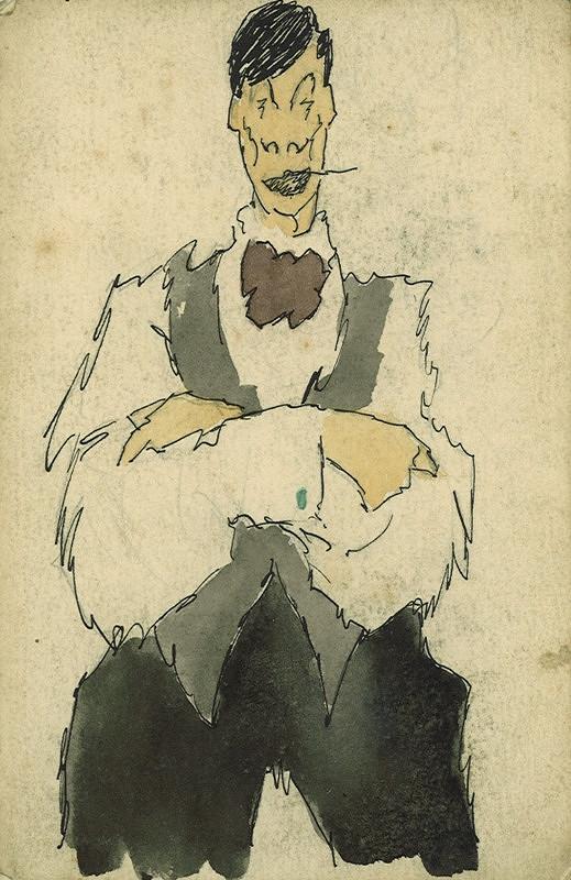 František Tichý - Vlastní karikatura