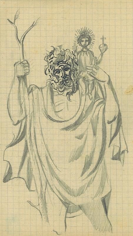 František Tichý – Svatý Kryštof
