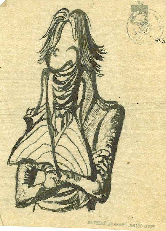 František Tichý – Návrh na ilustraci