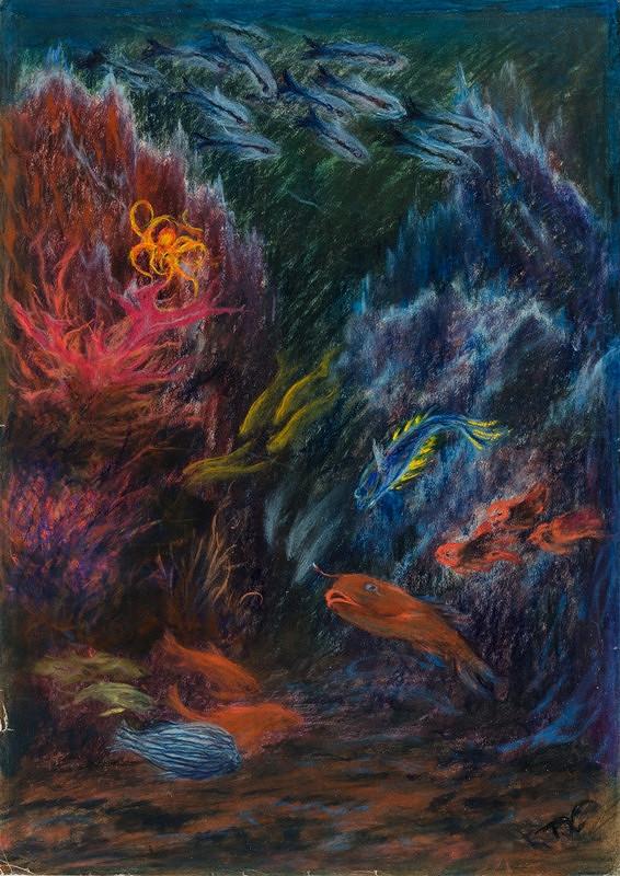 František Kobliha – Podmořské motivy