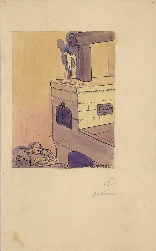 Rudolf Adámek - Ilustrace k pohádce