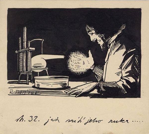 Rudolf Adámek – Ilustrace - Jak svítí jeho ruka