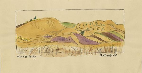 Gertruda Goepfertová Gruberová - Pálavské vrchy