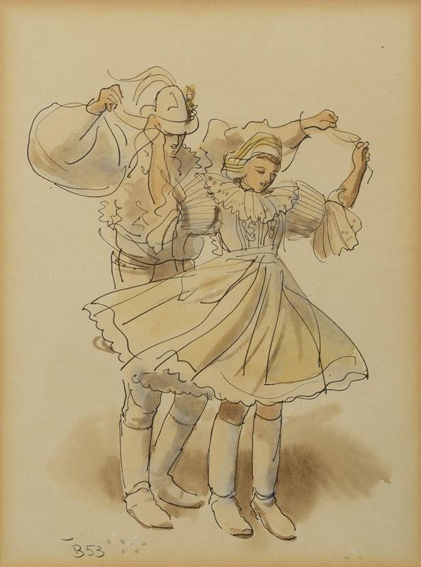 Neznámý autor (značka F.R.H.) – Tanečníci