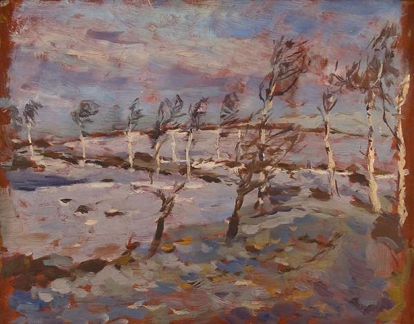 Antonín Slavíček – Kameničky v zimě