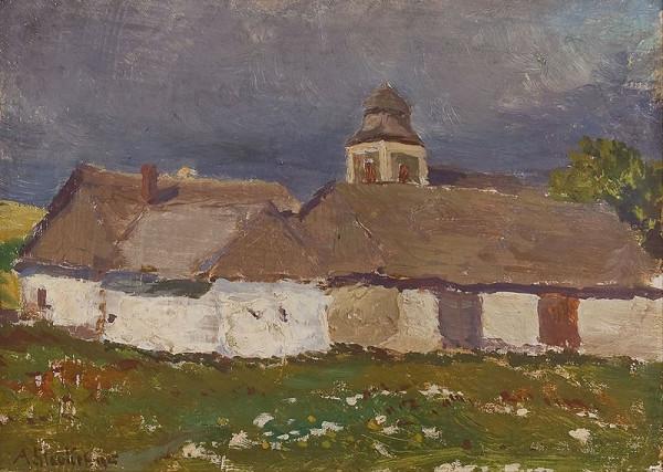 Antonín Slavíček – Před bouřkou v Kameničkách