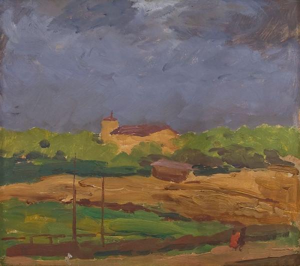 Antonín Slavíček – Letná v bouři