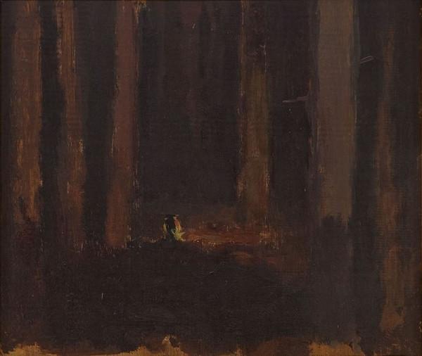 Antonín Slavíček – Studie k lesu