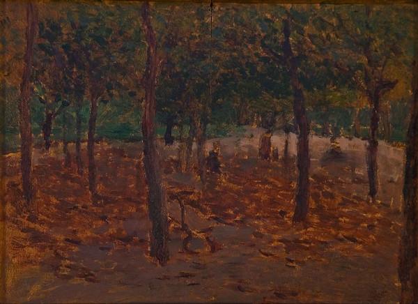 Antonín Slavíček – Na Letné v podzimu