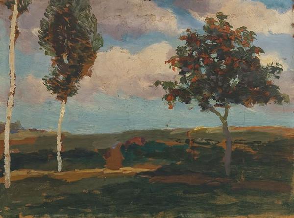 Antonín Slavíček – Z Kameniček na podzim