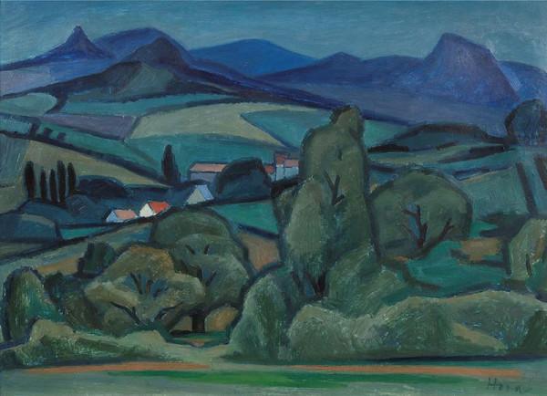 František Hora - Středohoří