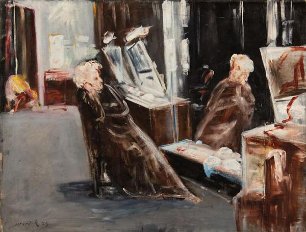 František Jiroudek – Herec před zrcadlem