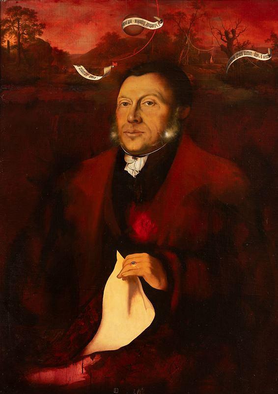 Josef Vyleťal – Pozdní portrét Adalberta Stiftera