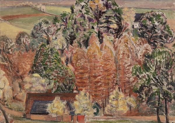 Jan Trampota – Kvetoucí stráň v Pečině
