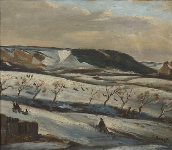 Vincenc Beneš – Zimní krajina