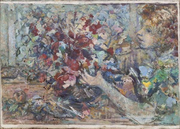 Willi Nowak – Dívka s kyticí