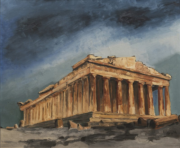 Lev Šimák – Řecký chrám - Pantheon