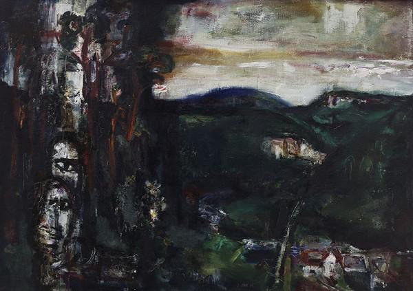 Josef Jíra – Krajina s Kozákovem