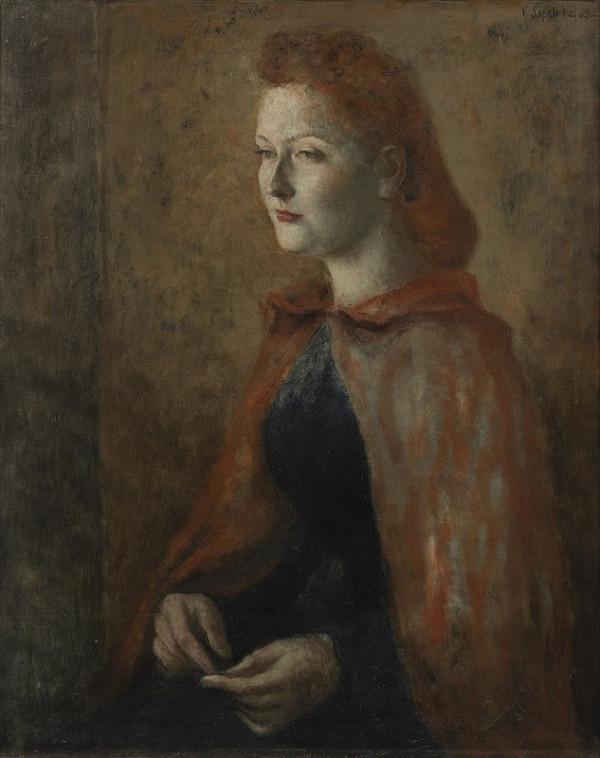 Vladimír Sychra - Portrét ženy