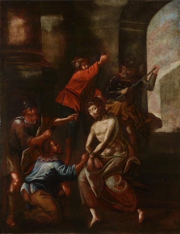 Neznámý středoevropský (?) autor – Mučení Kristovo