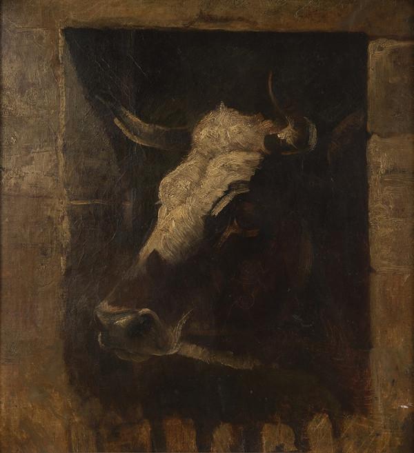 Quido Mánes – Hlava krávy
