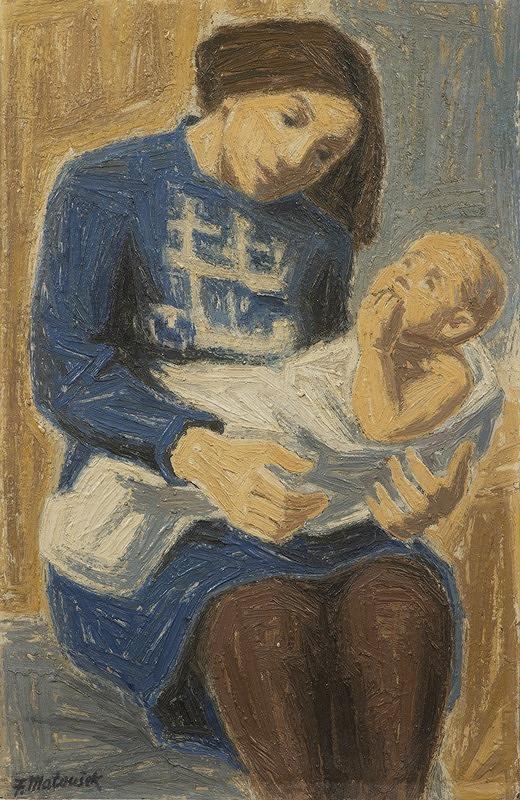 František Matoušek – Mladá matka