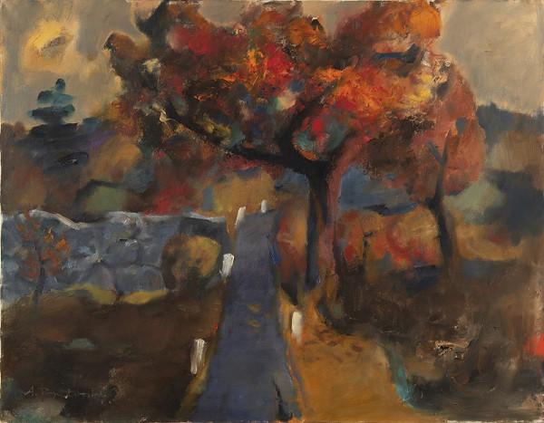 Antonín Rychlovský – Podzimní krajina