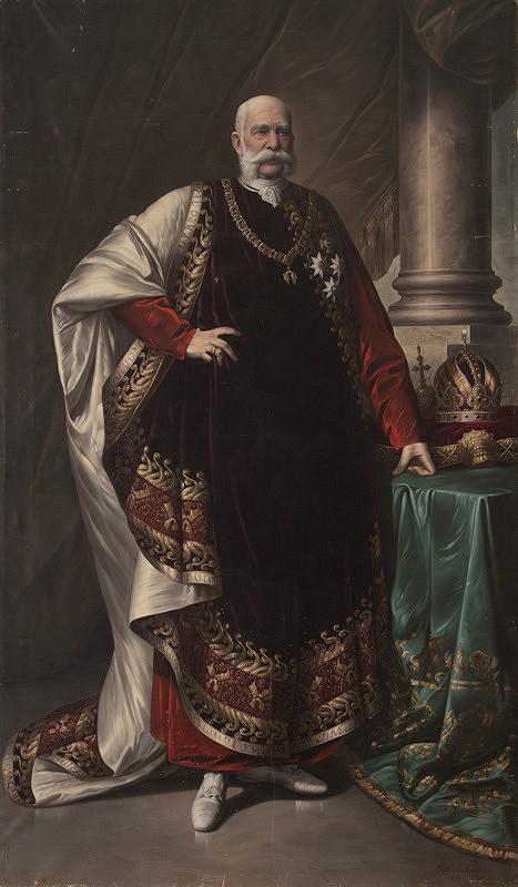 Václav Kretschmer – Portrét císaře Františka Josefa