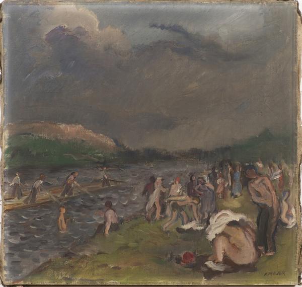 Antonín Majer – Koupání před bouří