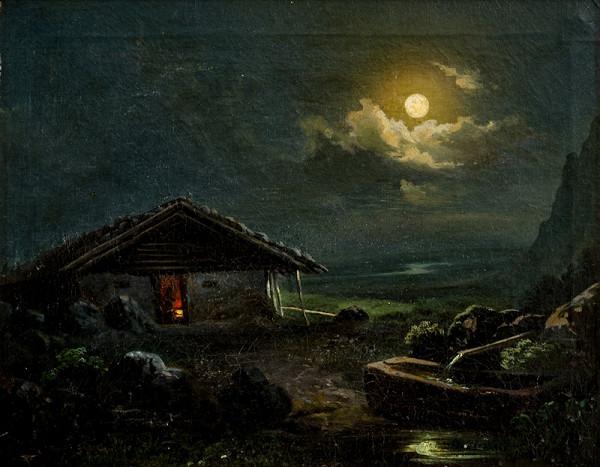 Josef Mánes – Měsíční krajina
