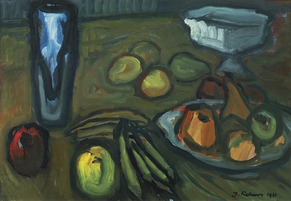 Jan Kalous – Zátiší s jablky
