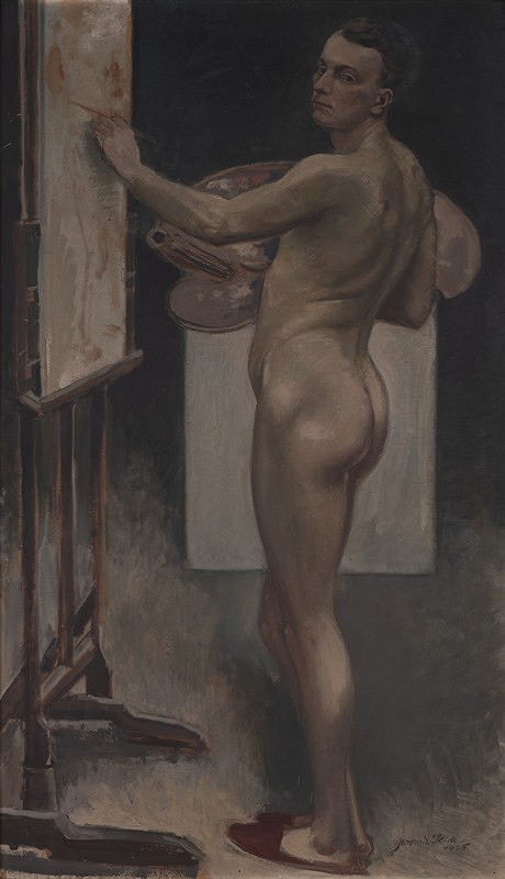Jaromír Seidl - Autoportrét