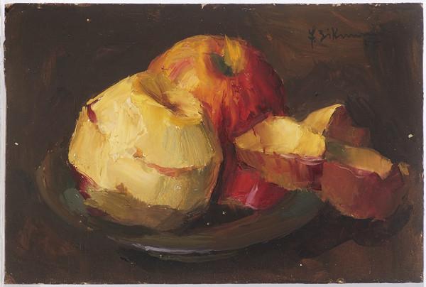 František Zikmund – Zátiší s jablky