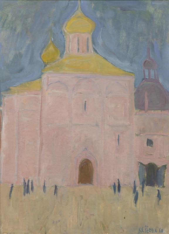 Eva Křížová-Brýdová – Kostel v Zagorsku
