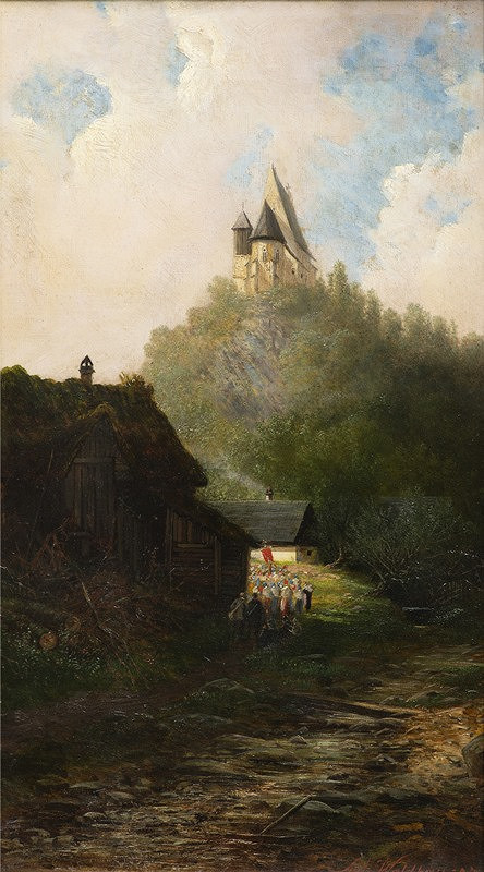 Antonín Waldhauser – Procesí pod kostelíkem